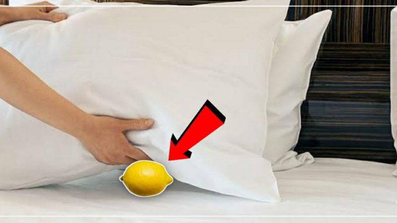 झोपण्याआधी उशीच्या खाली एक लिंबू ठेवल्यास होतील हे चमत्कारिक फायदे..!